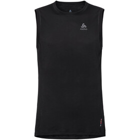 Odlo Merino 130 Top Crew Neck Singlet Men, black